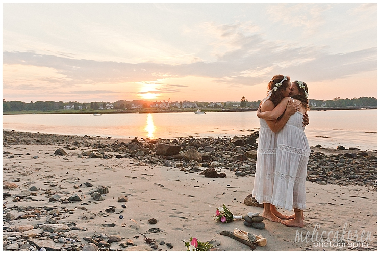 Odiorne Point Elopement, Rye, NH Wedding Photography