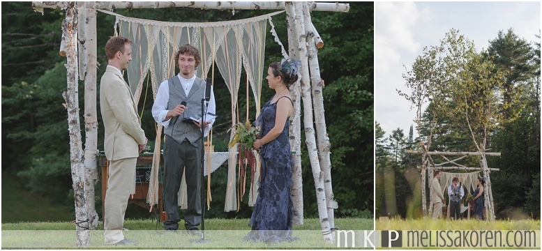 1920's Rustic Wedding Ogontz NH0011