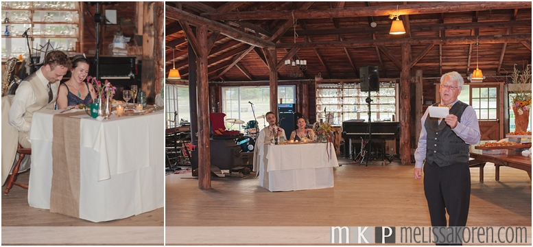 1920's Rustic Wedding Ogontz NH0019