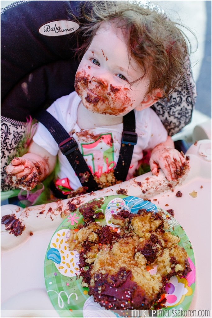 cake smash photography 1 year old nh