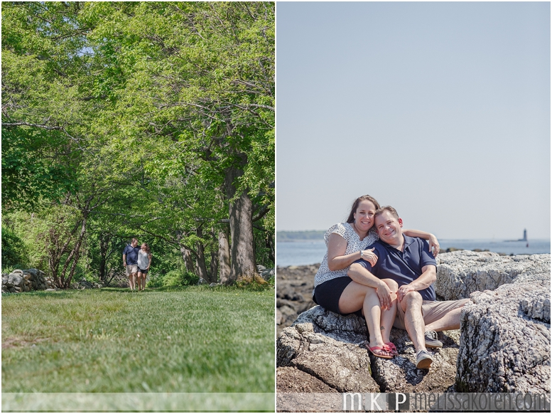 new hampshire beach engagement photos