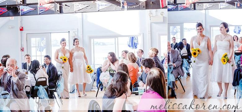 elnara  u0026 rosalie  squantum yacht club memorial day weekend lgbt wedding