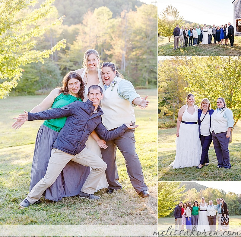 moody mountain farm same sex wedding