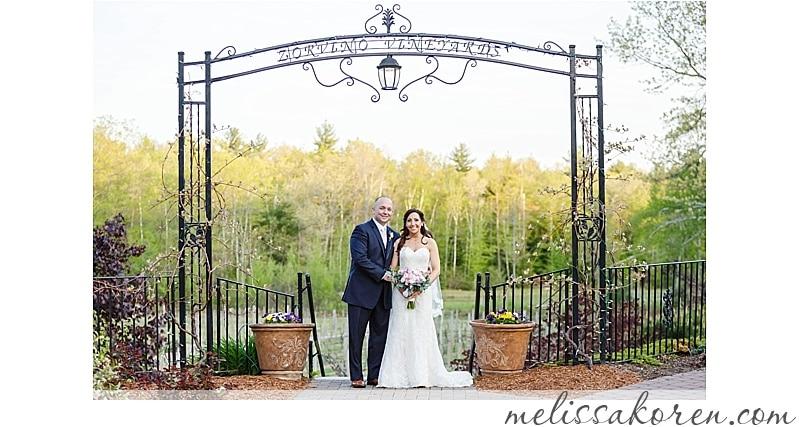 Zorvino Vineyards Wedding | Haverhill Ma Nh Winery Zorvino Vineyards Wedding
