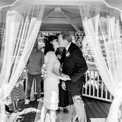An intimate backyard wedding. Portsmouth, NH
