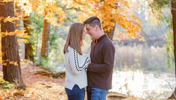 Exeter NH Fall Engagement session