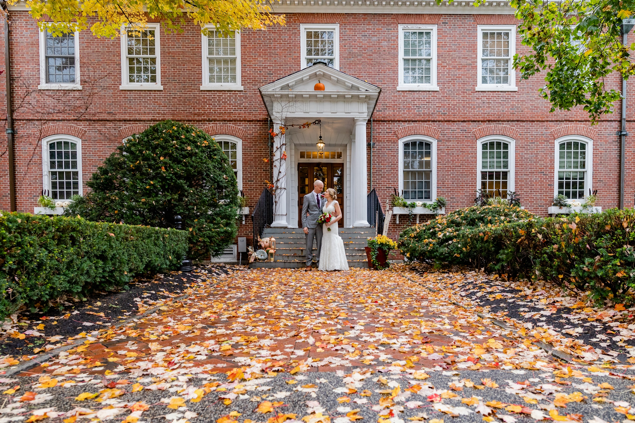 NH Romantic Small Wedding at the Exeter Inn