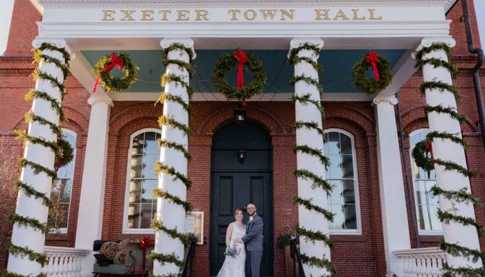 NH Exeter Inn Winter Wedding