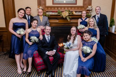 Winter Exeter Inn Wedding