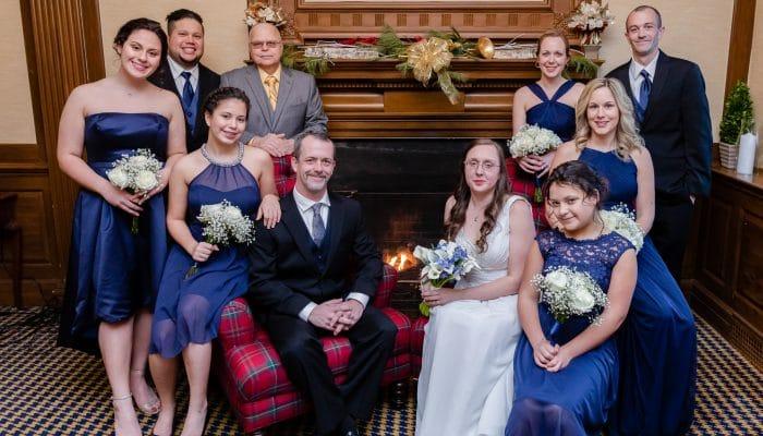 Winter Exeter Inn Wedding