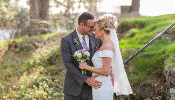 intimate wedding at the wentworth by the sea