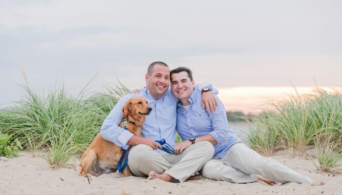 Gay Engagement Photos Salisbury Beach
