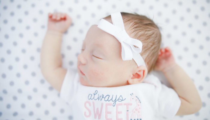 Exeter NH At Home Newborn Session
