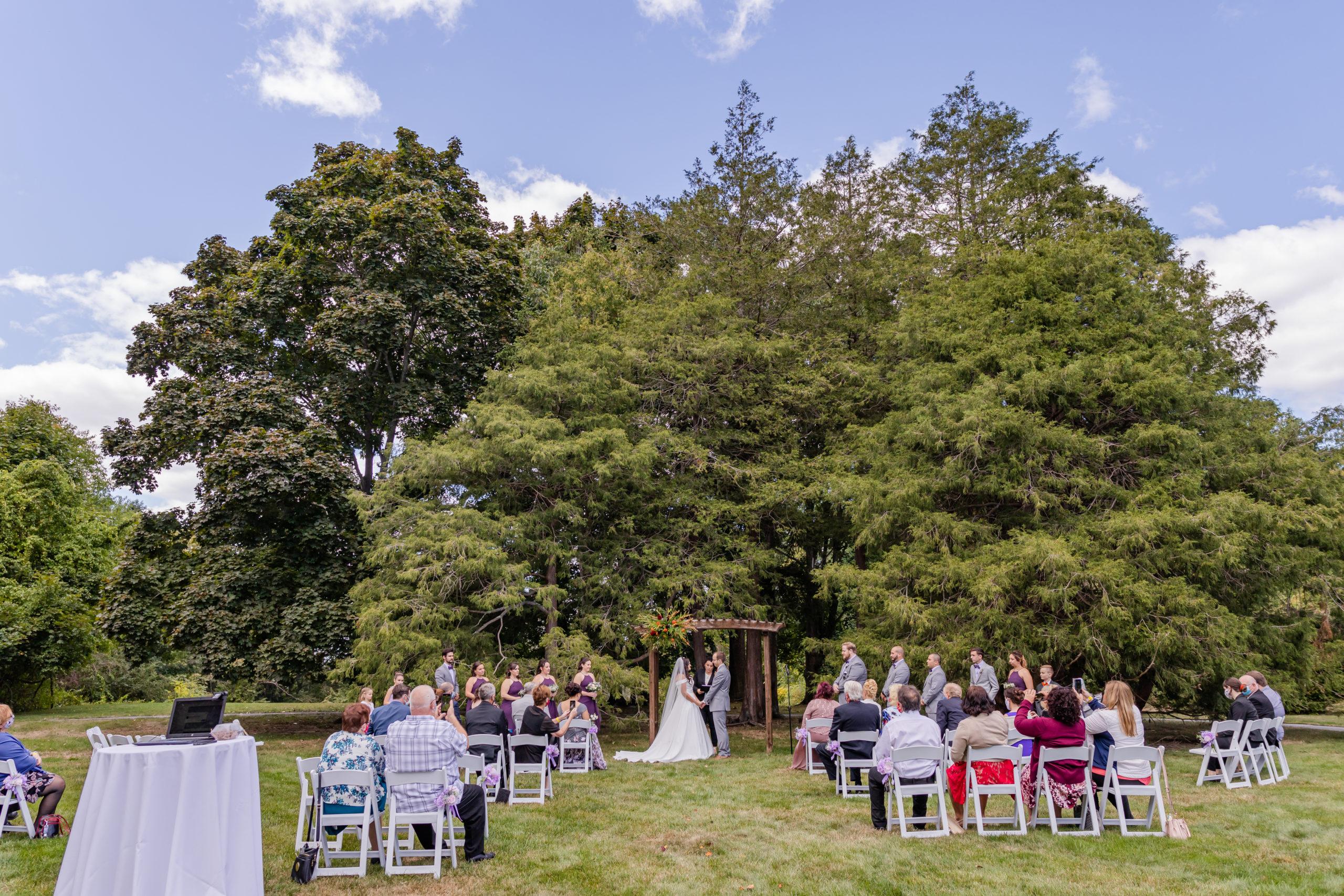 Stevens Estate Covid Wedding