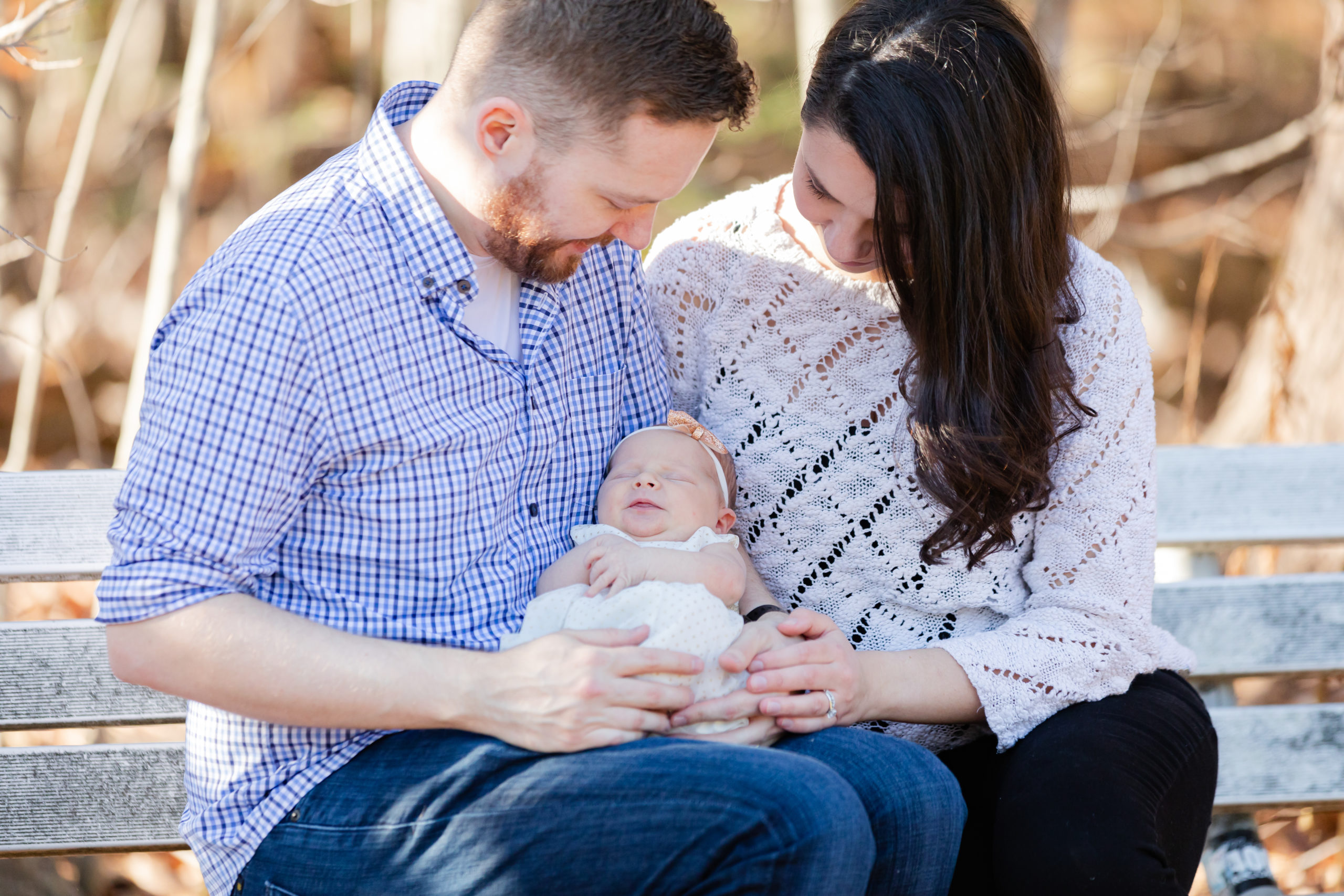 NH Outdoor Newborn Session