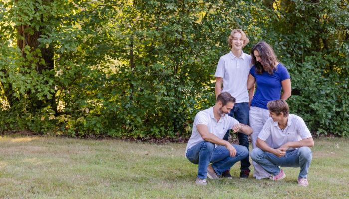 Seacoast NH Senior Family Photos